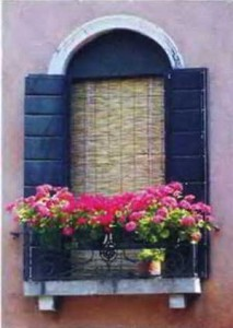 Украсим балкон цветами