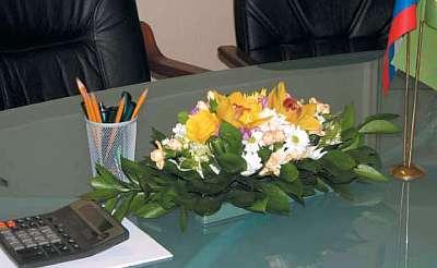 флористическая композиция для офиса